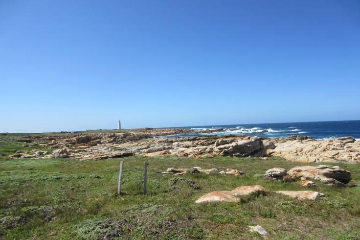 Bord de mer à Cape St-Francis en Afrique du Sud