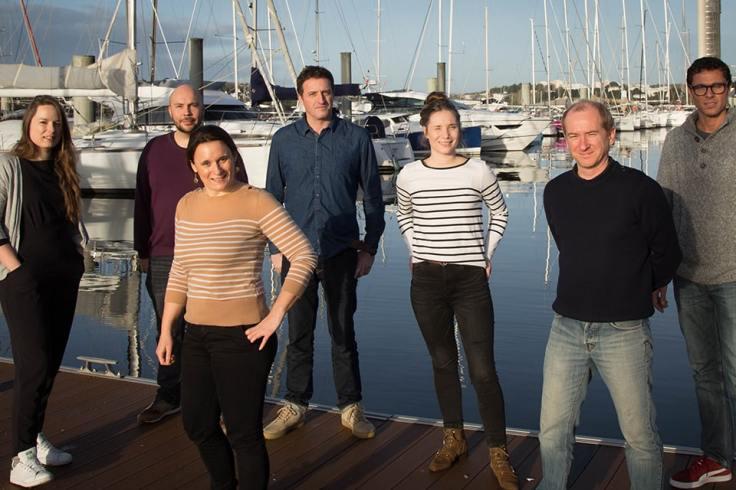 Les membres de l'équipage Océans Évasion