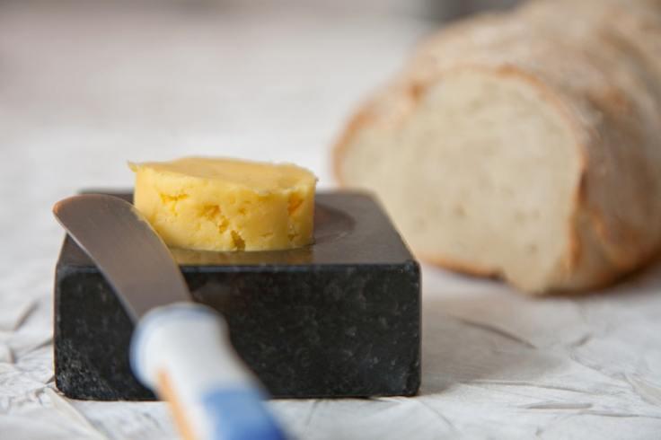 Portion de beurre salé