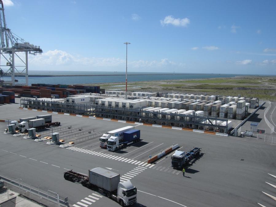 Reefer Rack Storage, Porte Oceane Terminal, Le Havre