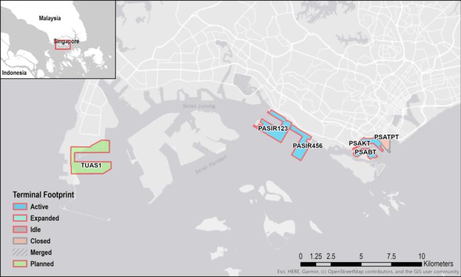 Singapore Tuas Port Expansion Project