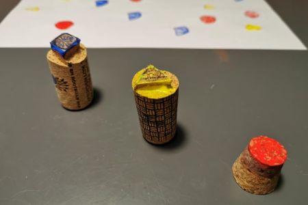 5 idées pour créer un tampon de peinture originalDIY