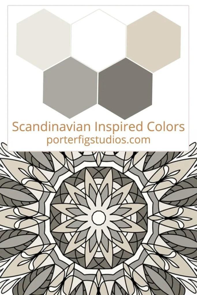 5 Best Scandinavian Inspired Color Palettes Porter Fig