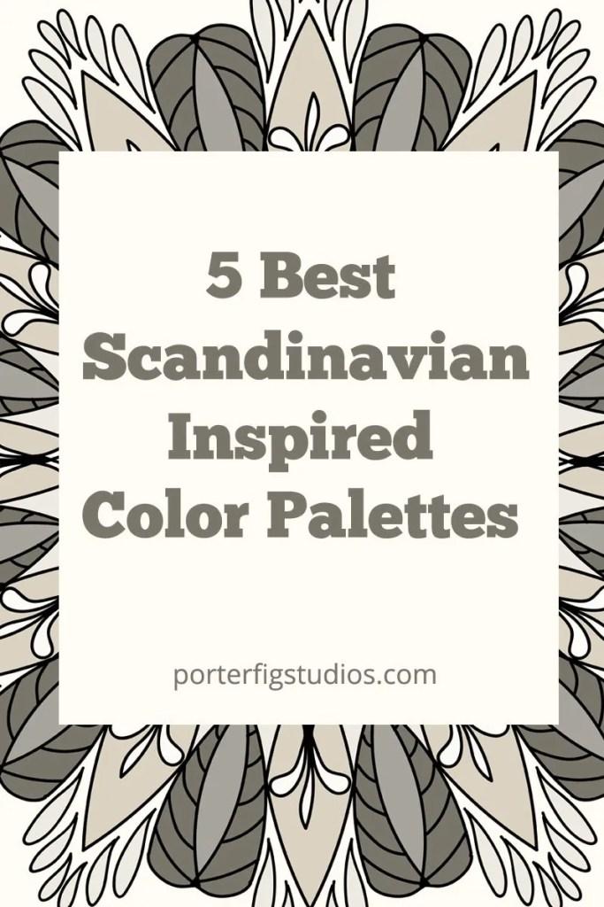 Scandinavian color palettes