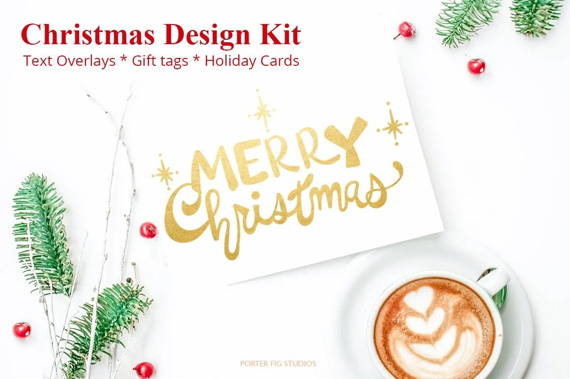 christmas designers bundle set