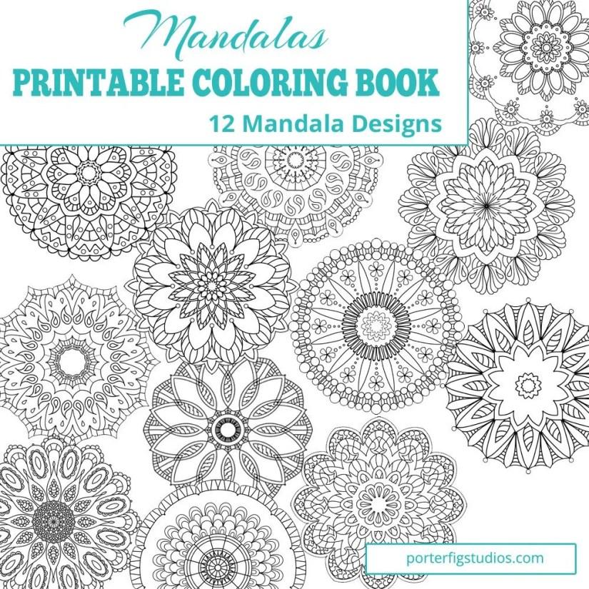 printable coloring book