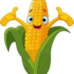 corn cartoon icon