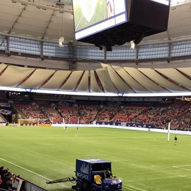 #Vancouver #whitecapsfc vs. Real Salt Lake @bcplacestadium ..#timelapse #mls #soccer #vwfc - from Instagram