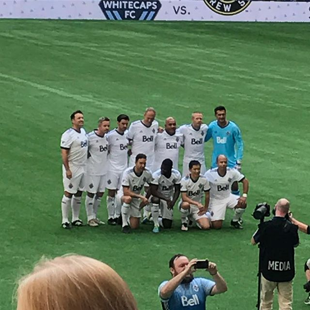 #whitecapsfc alumni & celebrities special match @bcplacestadium ..#yplee #??? #onceuponatime #colinodonoghue #SeanMaguire #RobertCarlyle #vancouver - from Instagram