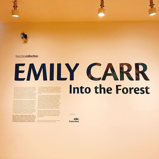 Emily Carr - Into the forest #fusenight @vanartgallery - from Instagram