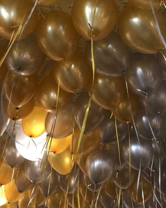 Happy #NYE! #balloons @honeysaltvancouver #parq #vancouver - from Instagram