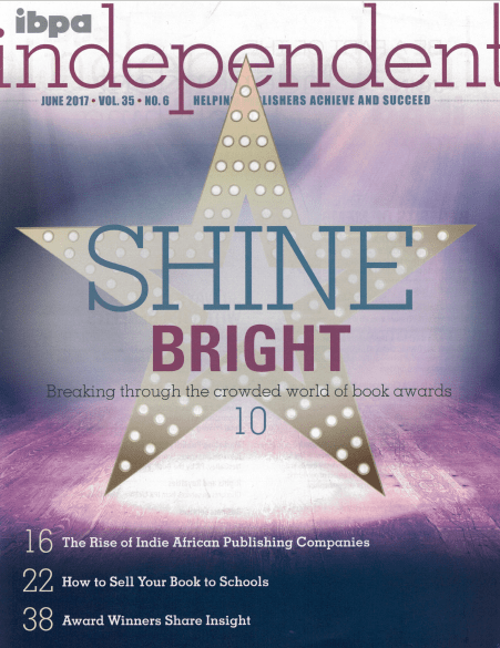 June 2017 Cover of IBPA Independent