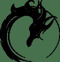 Logo dragon noir
