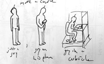position idea sketch