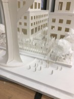 Rockefeller Center, paper architecture model