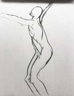 Gesture Drawing 2 (30s, 9/11)