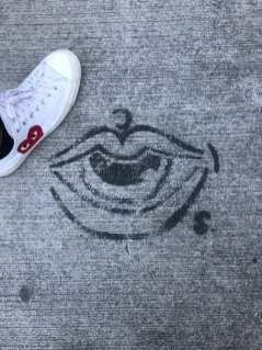 Floor Graffiti
