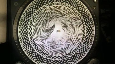 """Drew Tetz """"Lichtenstein"""" Phenakistiscope"""