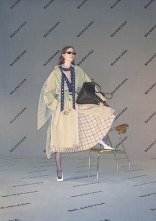 (Balenciaga Ad Campaign)