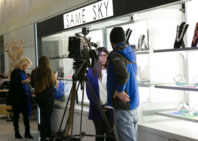 Same Sky Press Event - Newark Liberty International Airport