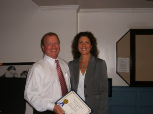 Lysa Scully and Chris Rhoads, LGA Operations Manager