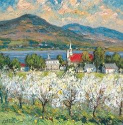 Jour de printemps à Sainte-Famille
