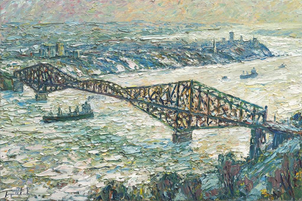 Le Pont 24x36