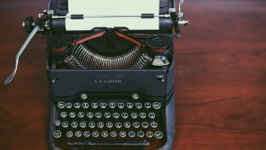 Antique Typewriter Topdown