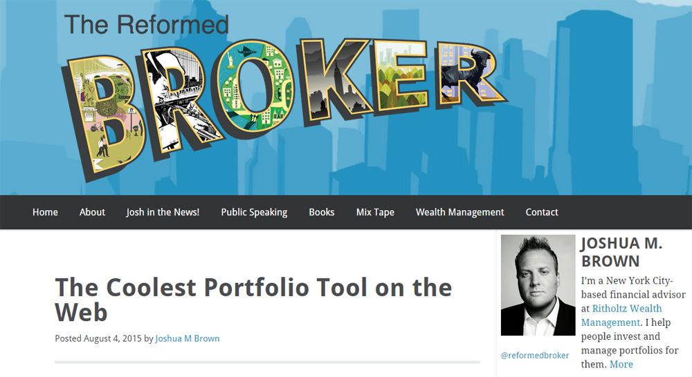 The Coolest Portfolio Tool on the Web