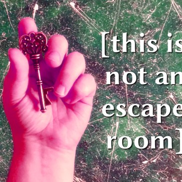 REVIEWS: [this is not an escape room] at PortFringe Installation Fest