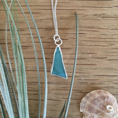 Bright Turquoise necklace from Flushing.