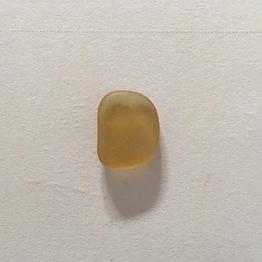 Honey amber seaglass for bespoke piece.