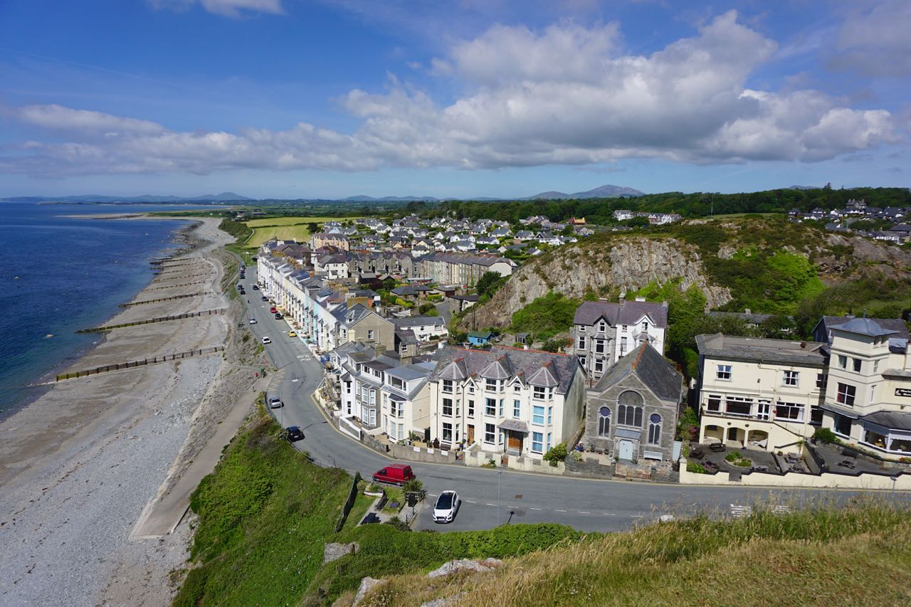 View from Criccieth Castle