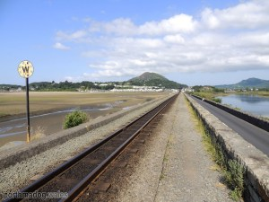 Looking Towards Porthmadog from The Cob