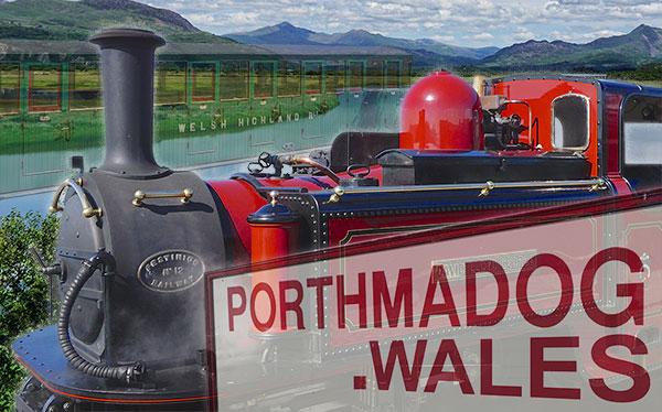 Porthmadog Wales Logo