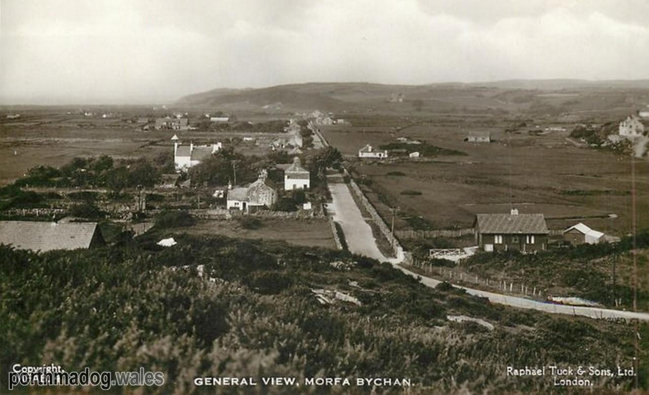 Postcard of Morfa Bychan (General View)
