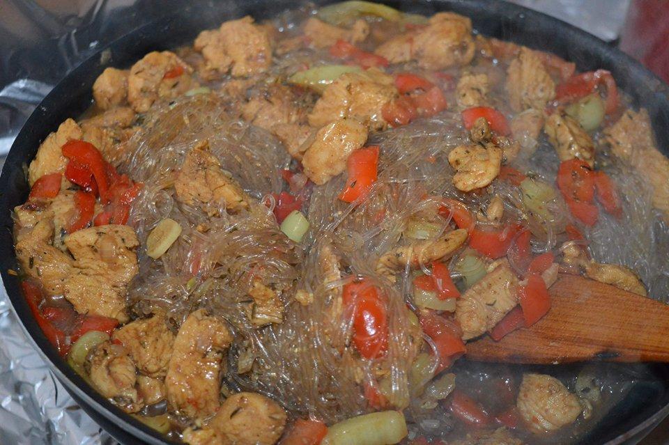 piept de pui cu sos de soia