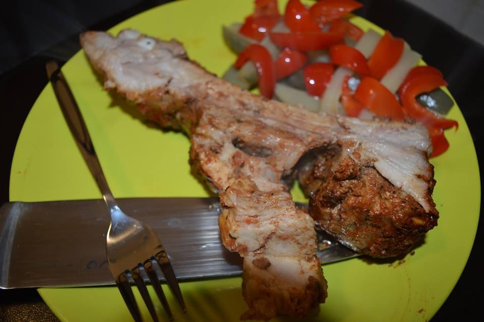 rețetă coaste de porc cu miere