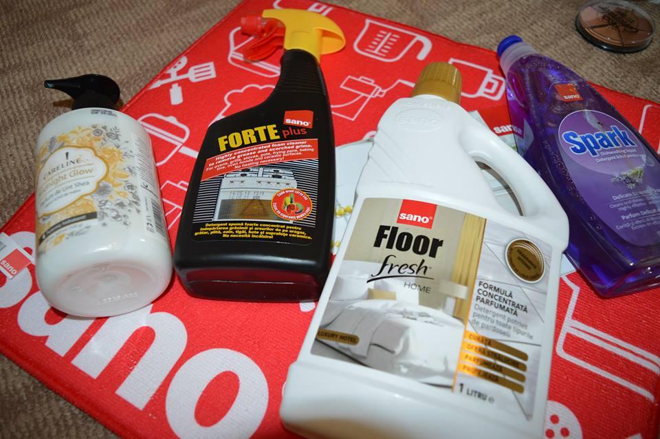 produse de curățenie Sano
