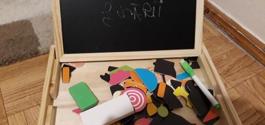 caseta magnetică Gașca de jucării