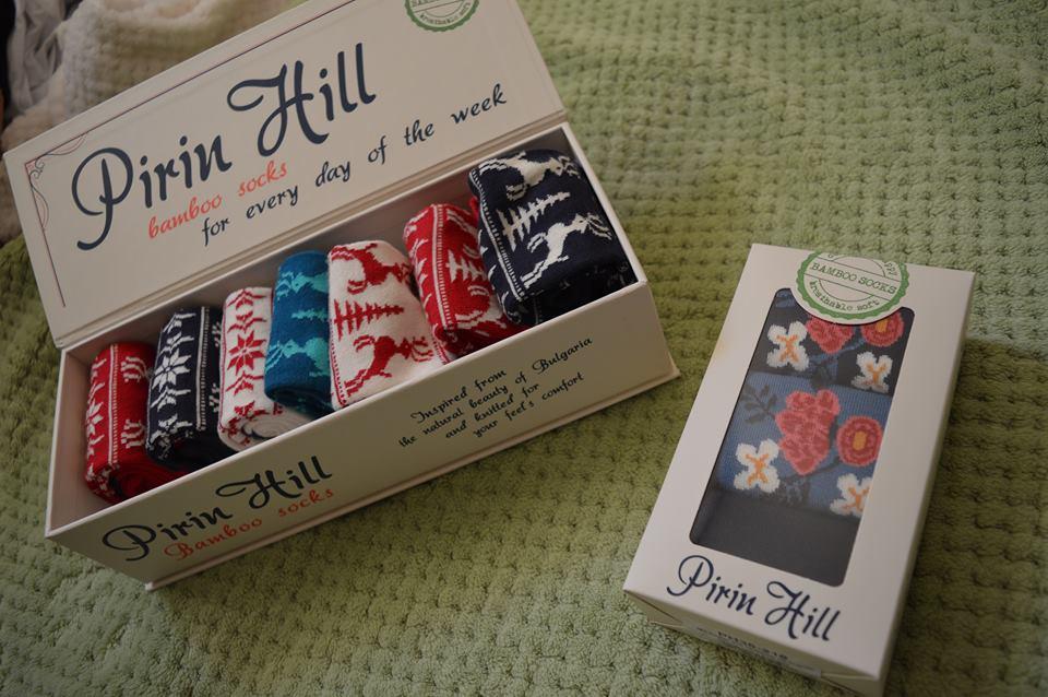 Socks in box Pirin Hill