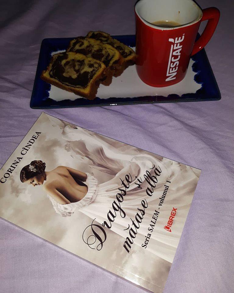 Dragoste și mătase albă -Salem #1 - Corina Cîndea