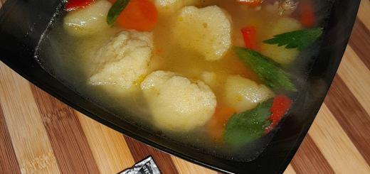 rețetă supă de găluște