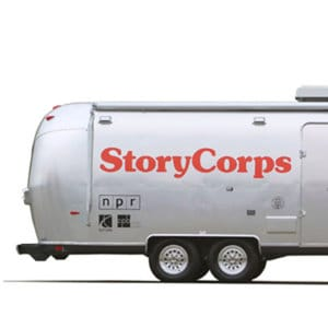 StoryCorps vehicle