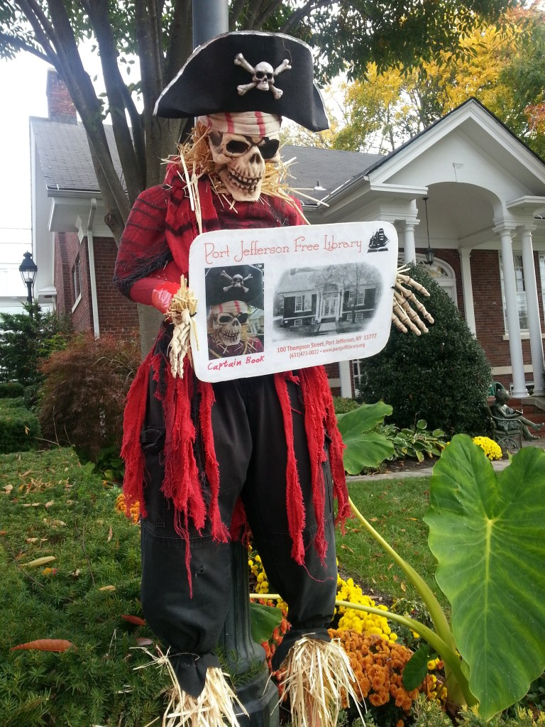 2014 Scarecrow in Port Jefferson