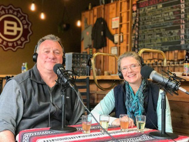 Joe Millea and Susan Swank Moulton Falls Cider House -- Portland Beer Podcast