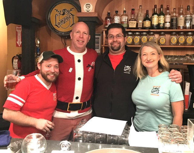 Lompoc Brewing's Holiday Seasonal Beers for 2017 - Portland Beer Podcast Episode 51