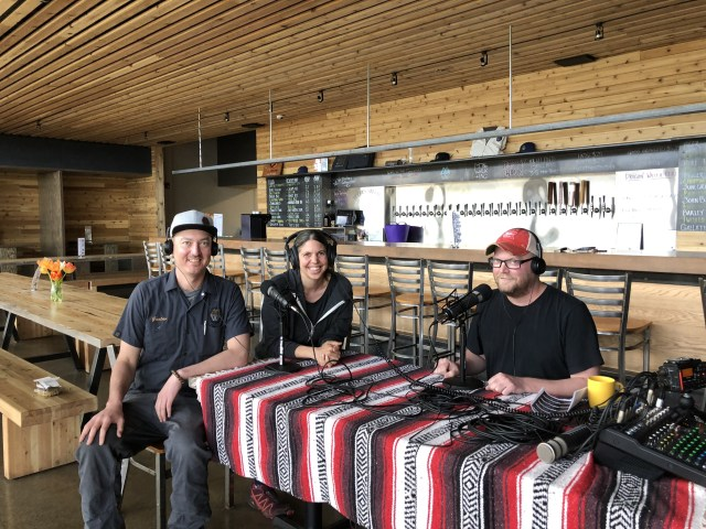 Gus and Sarah Dose & Tomas Sluiter Mountains Walking Brewery - Portland Beer Podcast episode 84 by Steven Shomler
