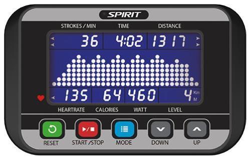 Spirit-CRW800-Rower Console