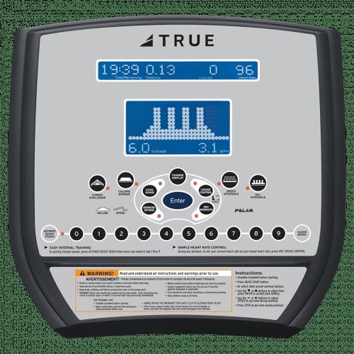 True CS200 Treadmill Console